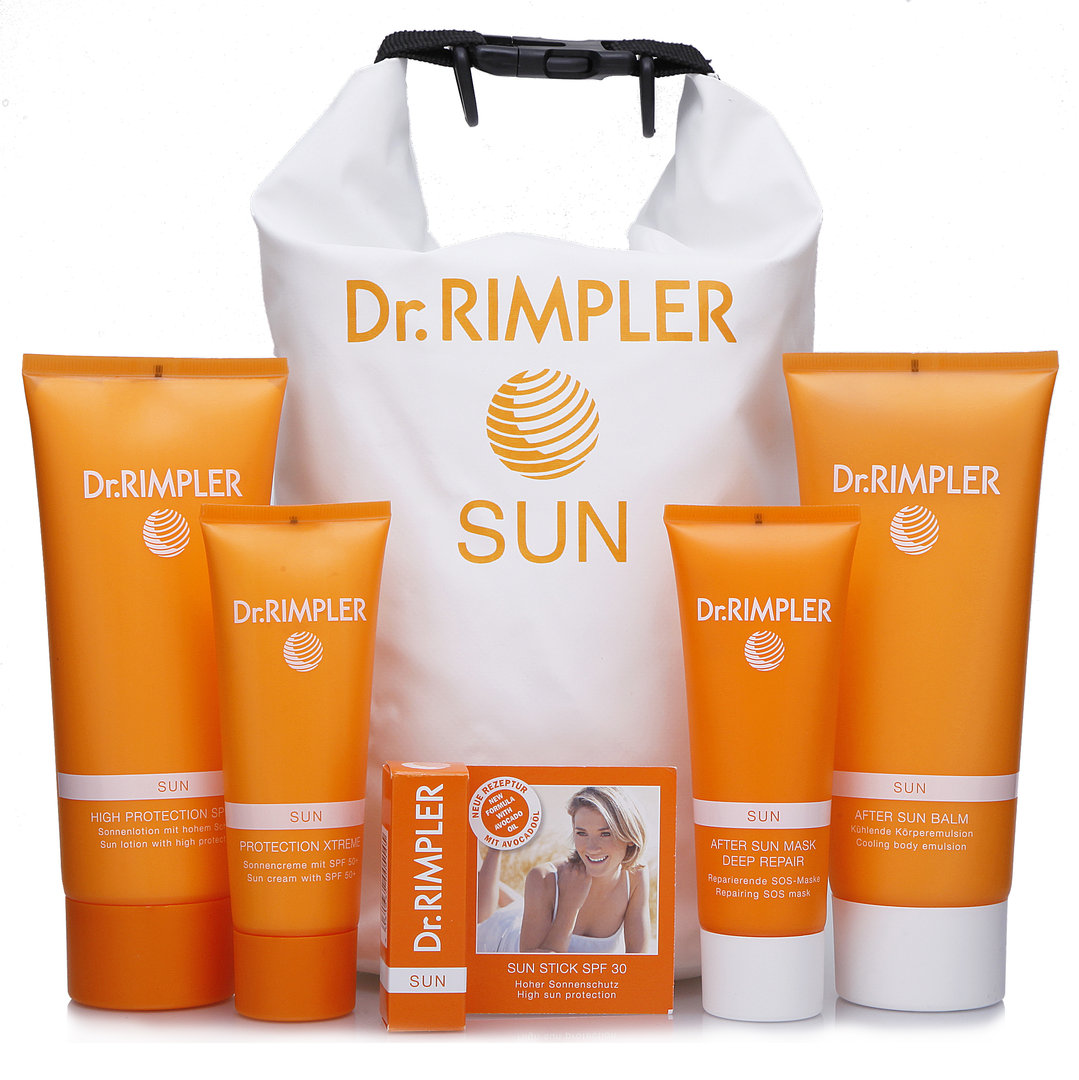 Dr. Rimpler SUN Promotion - 5 Sonnenprodukte Sun & After Sun