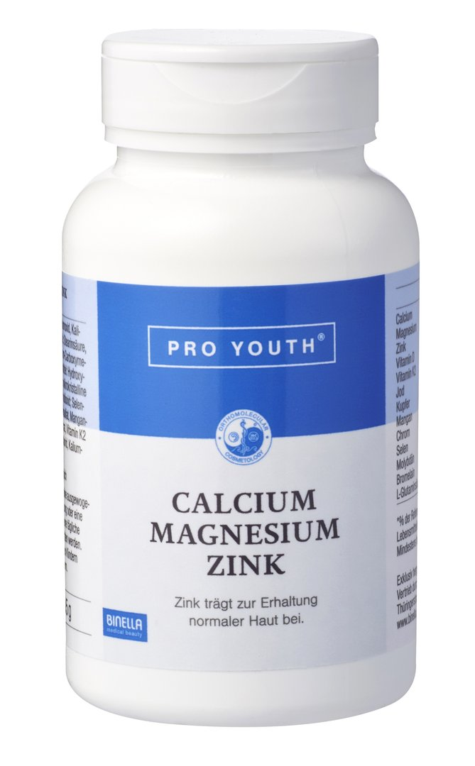 Binella Pro Youth Calcium Magnesium Zink  60 Tabletten