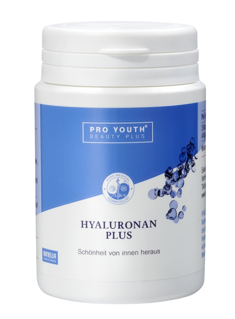 Binella Pro Youth Beauty Plus Hyaluronan Plus 120 Kapseln