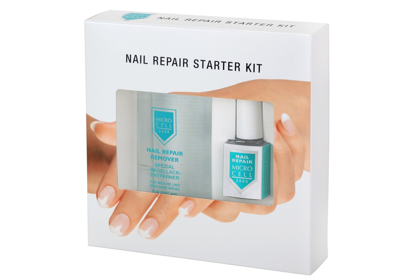 Microcell Nail Repair Starter Kit 12 ml + 100 ml